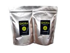 Ghora Coffee - Kopi Arabika Toraja & Kopi Robusta Lampung Bubuk 200 Gram - 2 Buah