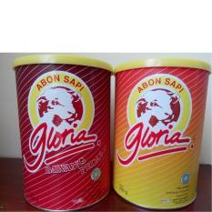 Jual Gloria Abon Sapi Kaleng 250G Paket Isi 2 Original