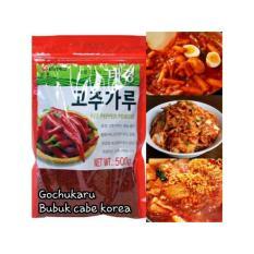 Gochugaru / Gochukaru / Bubuk cabe Korea Import HALAL (1kg full size)