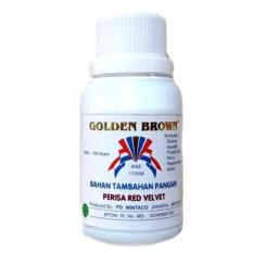 GOLDEN BROWN PASTA RED VELVET 100GR - PERISA RED VELVET PASTA