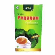 Green Zone Herbal Tea Celup Pegagan - 20 Tea Bags