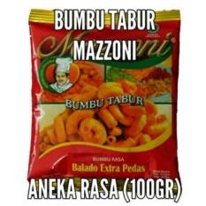 HBT Bumbu tabur mazzoni 100gr Balado Extra Pedas