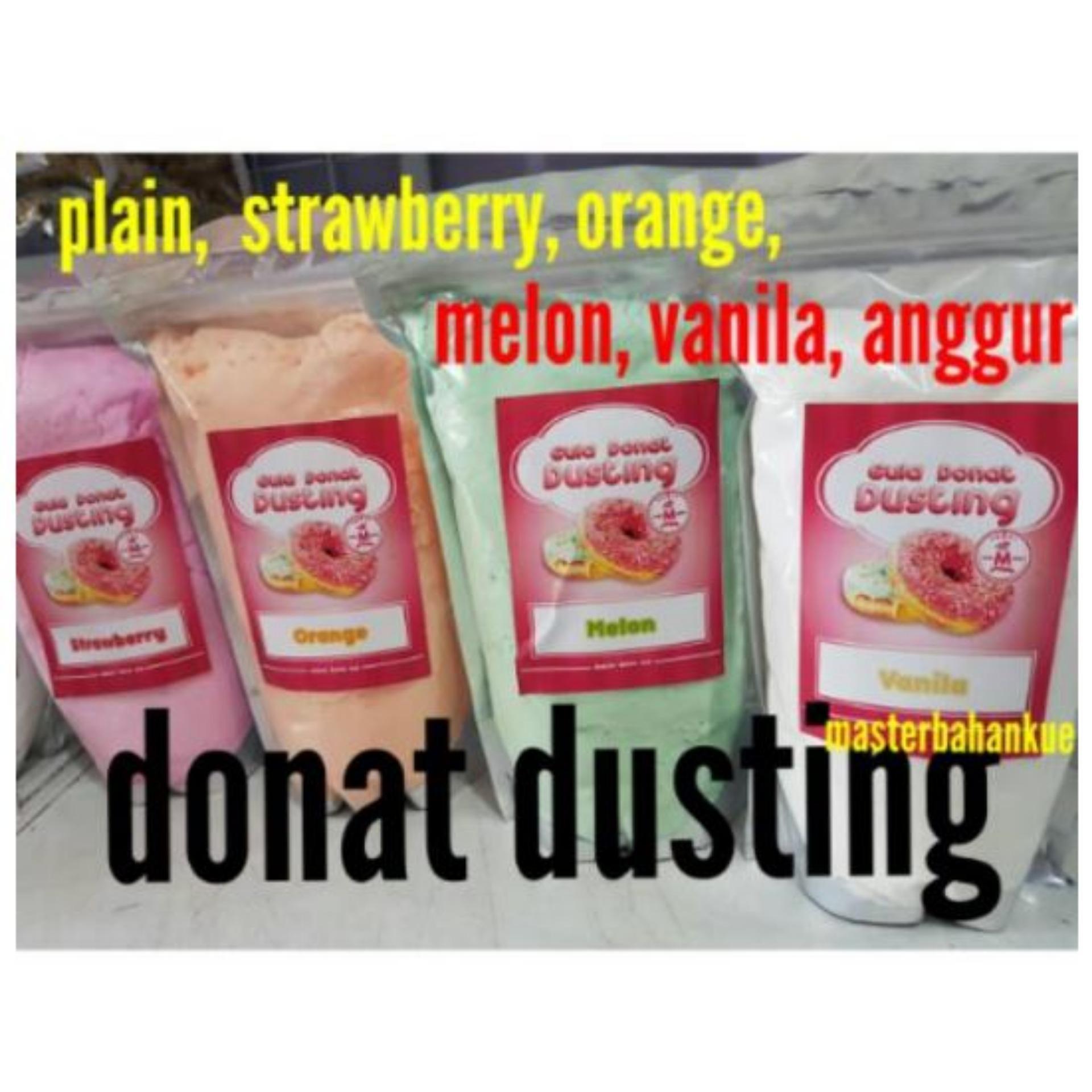 Bandingkan Toko HBT Gula donat dusting 500gr Anggur sale - Hanya Rp17.853