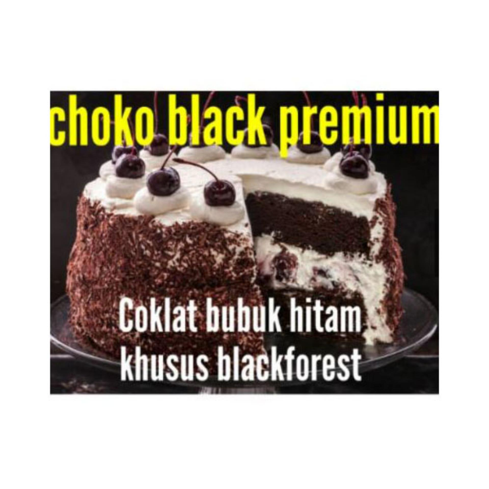 Beli sekarang HBT Schoko jet black premium 250gr terbaik murah - Hanya Rp22.320
