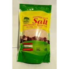 Harga Himalaya Rock Salt Garam Merah 500Gr Online