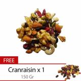 Jual Houseoforganix Buy 1 Pc Raw Trail Mix 1 Kg Get 1 Pc Cranraisin 150 Gr Import