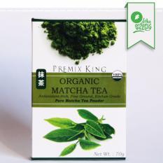 Import Premix King Organik Matcha Powder 70g / Organic Teh Jepang Bubuk Teh Hijau