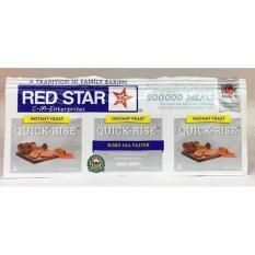 Instant Yeast Quick Rise Red Star/ Ragi Bebas Gluten / Ragi Instan