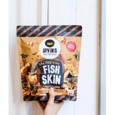 Irvins Salted Egg Fish Skin Original Singapore Big Size 230Gr - 1 Bungkus