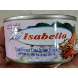 Harga Isabella Ikan Tuna Kaleng Dengan Cabe Dalam Minyak 180 Gr 5 Kaleng Baru Murah