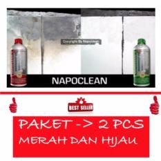 Jual Jbs Napoclean Heavy Duty Pembersih Keramik Porselen 1 Liter Merah Premium Dan Strong Hijau 1 Liter 1 Pcs Original