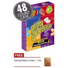 Promo Jelly Belly Bean Boozled 1 Pack Gratis Naturgo Masker Lumpur 1 Buah Jelly Belly Terbaru