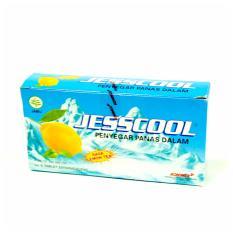 Jesscool jeruk nipis atau lemon produksi Konimex - 5 pack@6 pcs