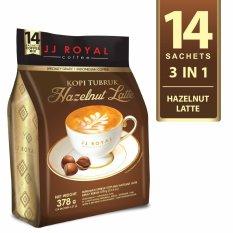 Harga Jj Royal Coffee Kopi Tubruk Hazelnut Latte Bulkbag 14 Sachets Merk Jj Royal Coffee