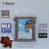 Spesifikasi Kacang Almond Panggang Rasa Susu 250 Gram Merk Blue Diamond