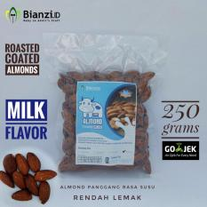 Promo Toko Kacang Almond Panggang Rasa Susu 250 Gram