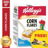 Jual Kelloggs Corn Flakes 500G Free Pencil Case Branded Original