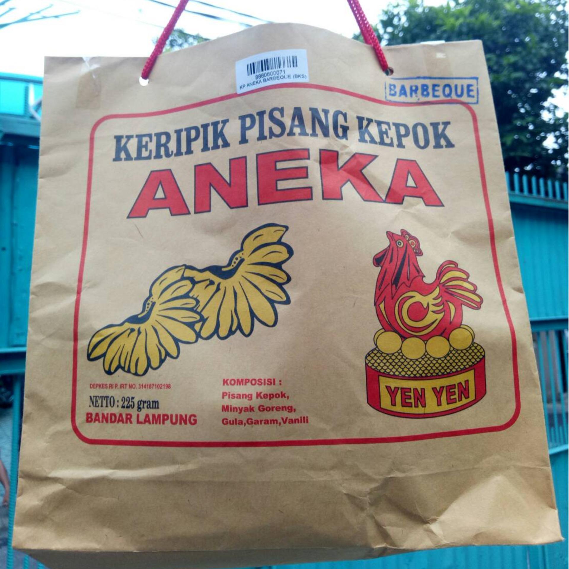 Keripik Pisang Lampung: Diskon Spesial KERIPIK PISANG BARBEQUE ANEKA YENYEN LAMPUNG
