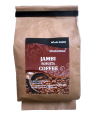 Khatulistiwa Coffee Robusta Jambi Coffee Roasted 250gr