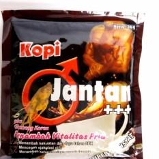 KOPI JANTAN PLUS GINGSENG KOREA-10SACHET