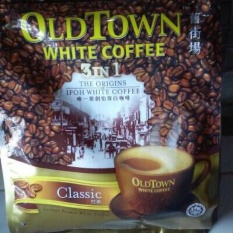 Kopi Old Town White Coffee 3In1 The Origins Of Ipoh White Coffee 15Pcs Rasa : Classic