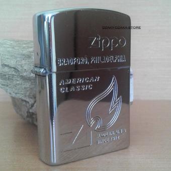 Pencari Harga Korek Api -Zippo Gold Dua Suara (Silver) terbaik murah - Hanya Rp61.370
