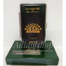 Kotak rokok Logo Brand Rokok Dji Sam Soe Refill Black
