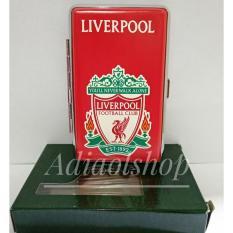Kotak rokok Logo Club Sepak Bola Liverpol - Merah