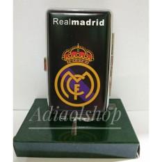 Kotak rokok Logo Club Sepak Bola Madrid - Hitam
