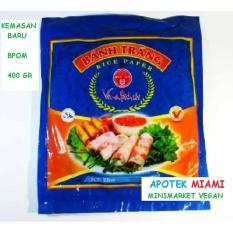 Jual Kulit Lumpia Vietnam Rice Paper Diameter 22 Cm Bpom 400 Gr 1 Pack Kuartet Nabati Original