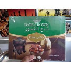 Harga Kurma Date Crown Khalas 1 Kg Yang Murah