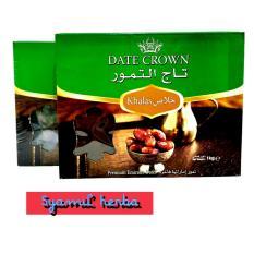 Harga Kurma Dates Crown Paket 2 Pack Kurma Asli