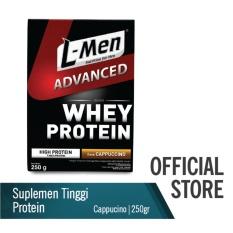 Harga L Men Hi Protein Whey Advanced Cappuccino 250 G L Men Baru