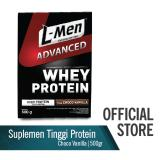 Beli L Men Hi Protein Whey Advanced Choco Vanilla 500 G Lengkap