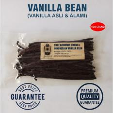 Toko Lentera Vanilla 100 Gram Vanilla Bean Vanilla Pods Asli Alami Dekat Sini