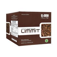Limmit Coffee U-One ( 10 Sachet @20 Gram ) Dinkes No. 210360301309