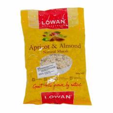 Review Tentang Lowan Oat Apricot Almond Natural Muesli 500Gr