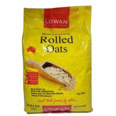 Beli Lowan Oat Whole Foods Rolled Oats 1Kg Lowan Dengan Harga Terjangkau