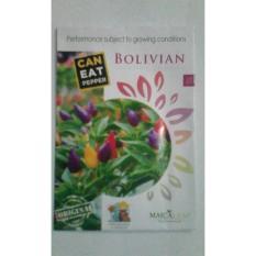 Maica Leaf Benih  Cabe Bolivian Rainbow / Cabe Pelangi 1 Pack