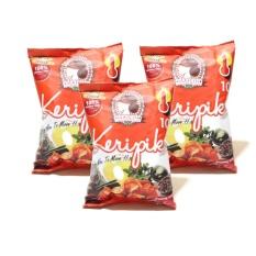 Maicih Keripik Singkong Level 10 - Cemilan - 100gr - Paket 3 pcs
