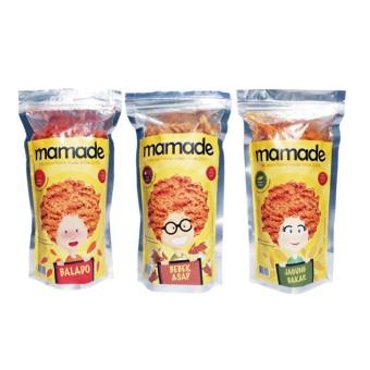 Price Checker Mamade Makaroni Rasa Balado + Bebek Asap + Jagung Bakar - Paket 3pcs x