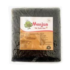 Manjun Yaki Sushi Nori Rumput Laut 25 Lembar Repack Manjun Diskon 50