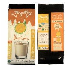Toko Megumie Durian Latte Powder 500 Gram Bubuk Minuman Durio Serbuk Terlengkap Di Dki Jakarta