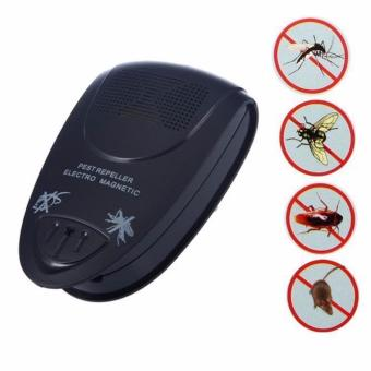 Mellius Pengusir Hama Ultrasonic / Electromagnetic Rat Pest Control Repeller