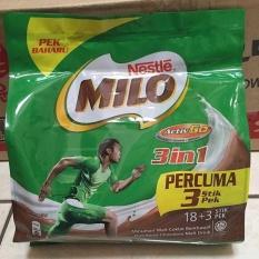 Jual Milo 3In1 Active Go Malaysia 18 Sachet Nestle Milo 3In1 Susu Milo Multi Original