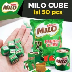 MILO CUBE ISI 50 ADA LOGO HALAL