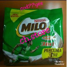 Harga Milo Malaysia 3 In 1 18 Sachet 3 Sachet Ready Bisa Cod Dan Spesifikasinya