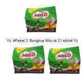 Milo Malaysia 3 In 1 Protomalt 18 3 Sachet 3 Pax Indonesia Diskon 50