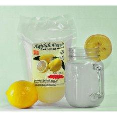 Review Minuman Herbal Seri Jeruk Lemon Aqillah Fresh Asli 500Ml