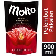 Molto Pelembut Dan Pewangi Pakaian Eau De Parfum Luxurious Red 900ml